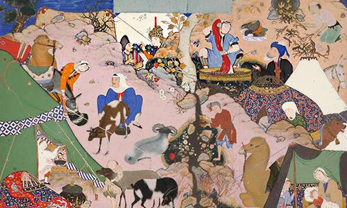 سواد مالی در دل ادبیات ایران زمین